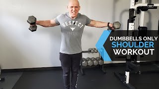 Dumbbell Workout - Shoulders