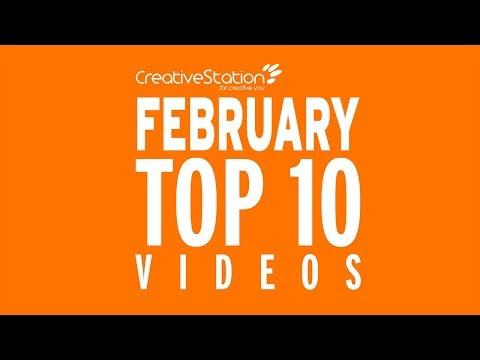 CreativeStation February 2018 Top 10 Video Arts