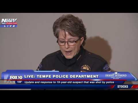 Tempe Police Respond To Officer Involved Shooting That Killed Black Robbery Suspect - FNN