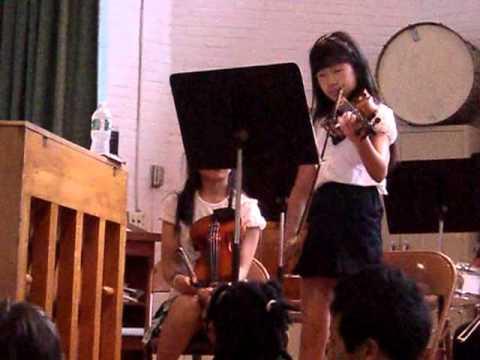Chloe Byun first violin concert Memorial Spaulding June 2011