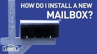 How Do I Install a New Mailbox?   DIY Basics