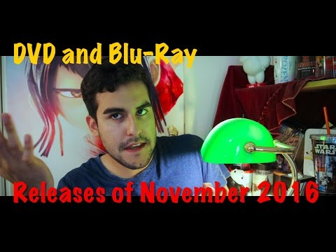 This Month In Movies Ep 25  November DVD Releases 2016