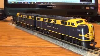 外国型鉄道模型のご紹介(DL EMD FT ATSF バックマン製)