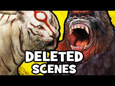 Kong Skull Island DELETED SCENES, Monsters & Rejected Concepts