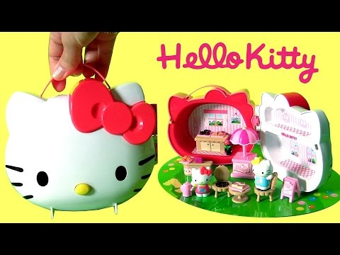 Hello Kitty with Her Sister Mimmy Kitty Picnic Case Summer ...