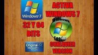 ACTIVAR WINDOWS 7 | CON WINDOWS LOADER | 32 y 64 BITS