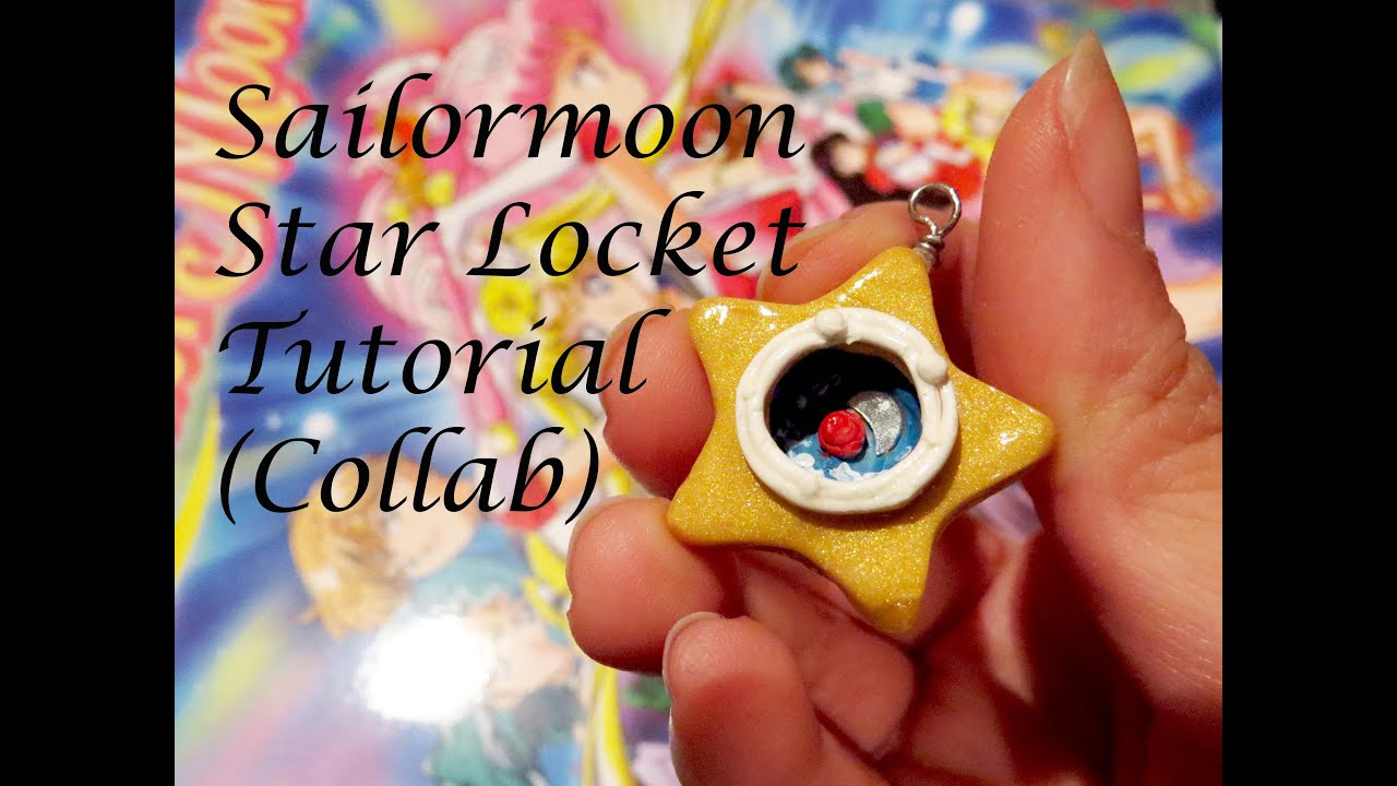 sailormoon star locket tutorial collab youtube