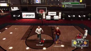 TRASH TALKER CALLS ME OUT AND GETS EXPOSED!!! NBA 2K16 STAGE GAMEPLAY