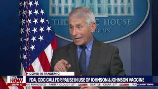 Johnson and Johnson Vaccine Dr. Fauci Update on FDA, CDC Pause of Vaccine Due To Blood Clot Concerns