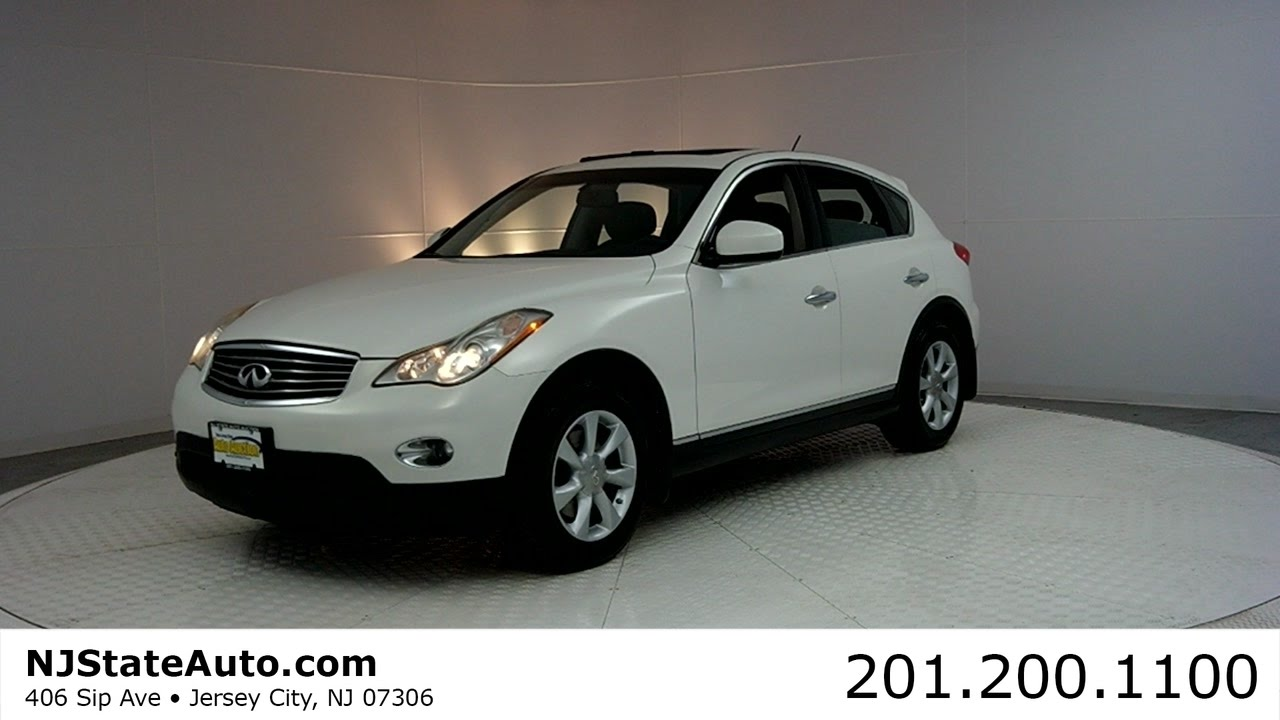 2008 Infiniti Ex35 Awd 4dr Suv New Jersey State Auto Auction Used
