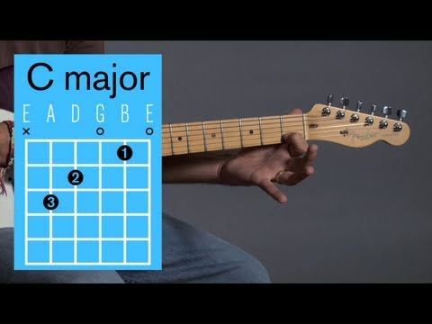How to Play a C Major Open Chord | Guitar Lessons
