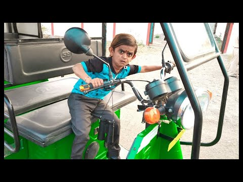 छोटू की खटारा रिक्शा | CHOTU ki KHATARA | Khandesh Hindi Comedy | Chotu Comedy Video