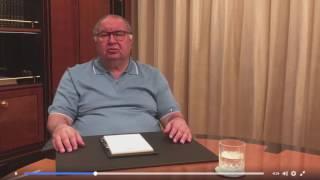 Дон Алишер Усманов в маске Крестного Отца