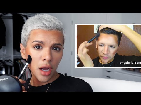 Recreating MY Worst Makeup Tutorial EVER!!!!! | Gabriel Zamora
