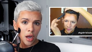 Recreating MY Worst Makeup Tutorial EVER!!!!! | Gabriel Zamora