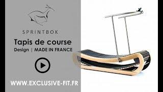 Tapis de course Design Sprintbok haut de gamme