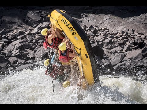 ZAMBEZI RIVER RAFTING: ONE OF THE BEST IN THE WORLD!