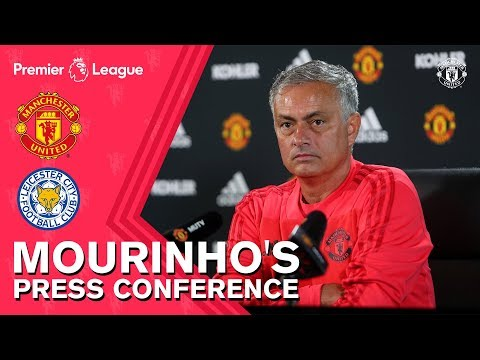 Mourinho\'s Press Conference | Manchester United v Leicester City
