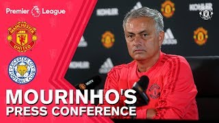 Mourinho's Press Conference | Manchester United v Leicester City
