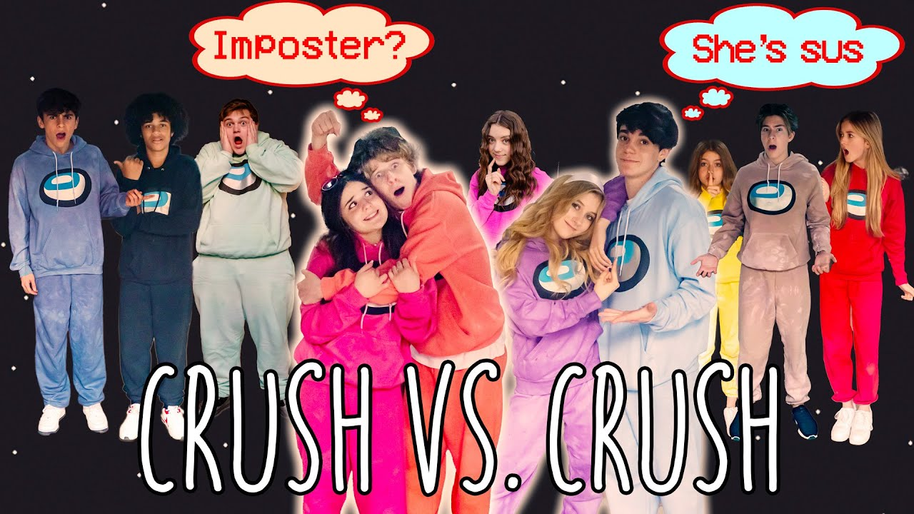 Download HAUNTED AMONG US in REAL LIFE Crush vs Crush Challenge ft/ Piper Rockelle & The Squad