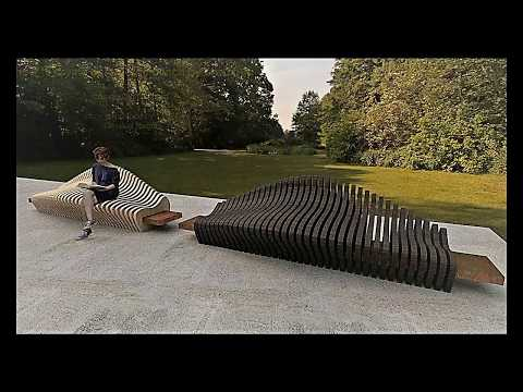 how to create a parametric bench by sketchup part 1