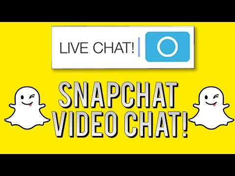 How to Video Chat on Snapchat - Snapchat Facetime (Tips and Tricks)