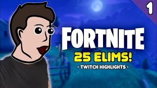THE CLUTCH VICTORY! (Fortnite)   Stream Highlight 1