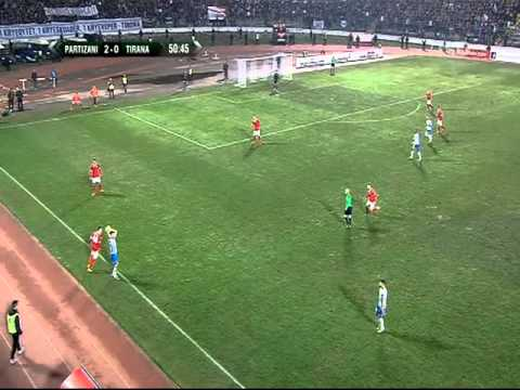 Derbi Partizani vs Tirana 90 minuta full time
