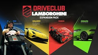 LAMBO-Челлендж - невероятные бычки! Driveclub PS4 + руль Fanatec ClubSport