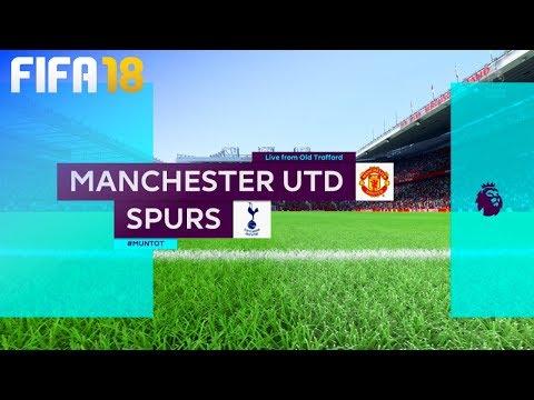 FIFA 18 - Manchester United vs. Tottenham Hotspur @ Old Trafford