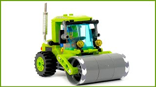 road roller Enlingten Brick City 1104 - Speed Build