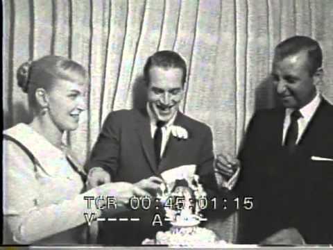 Paul Newman Joanne Woodward Wedding reel Las Vegas 30 January 1958