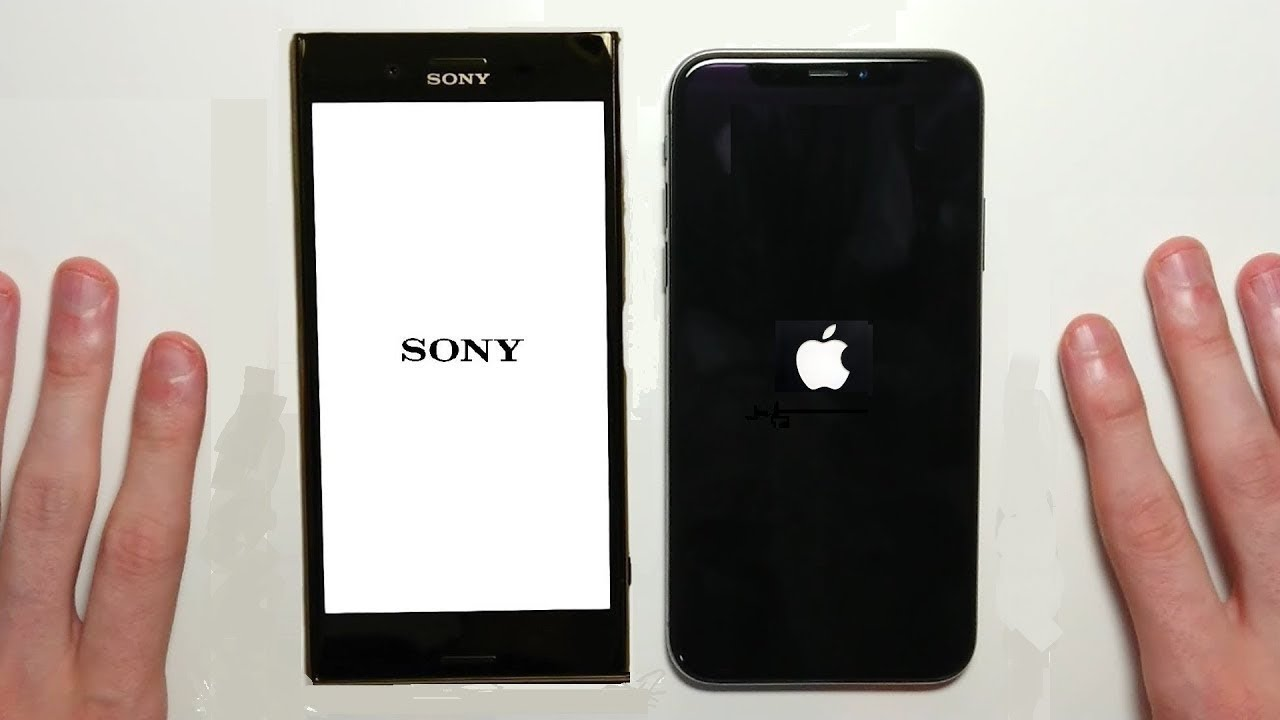iPhone X vs Sony Xperia XZ Premium Speed Test & Camera ...