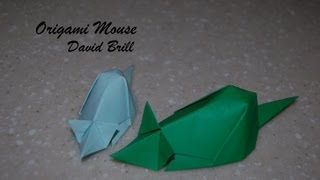Origami Mouse - How To Fold An Origami Mouse - David Brill