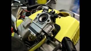 Как вырезать прокладки из паронита если негде купить , замена карбюратора ремонт бензокосы
