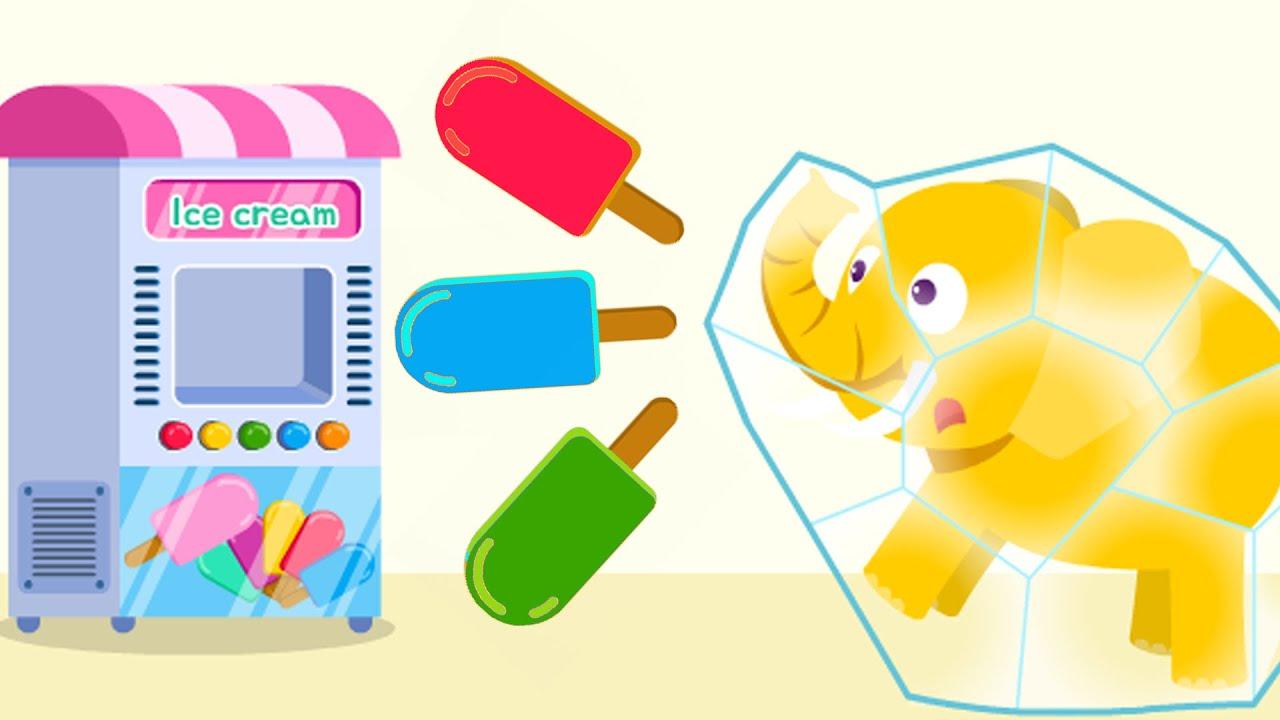 🍧아이스크림 자판기 모두 모음 | 달콤한 아이스크림 제일 좋아~! | 아이스크림 만들기 | 사탕만들기 | 한글놀이 | 단어놀이 | 모양놀이 | 티디키즈★지니키즈