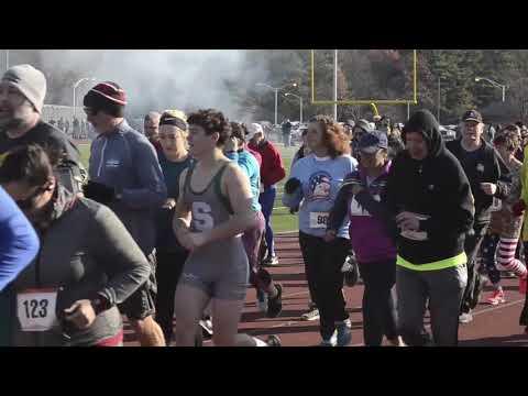 2018 Shenendehowa Veterans Day Dash start