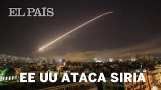 EE UU, Reino Unido y Francia atacan Siria   Internacional