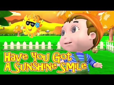 Have You Got A Sunshine Smile   Nursery Rhyme For Children   Animated  Rhymes