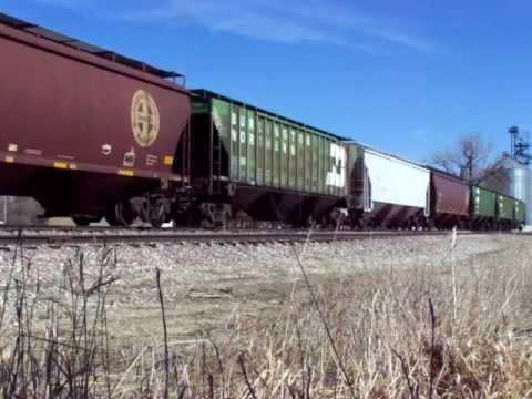 RRV&W 4101 at Sheldon, North Dakota