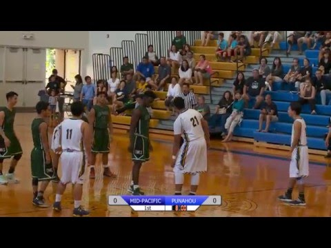 2016 Boys Basketball: Punahou vs. Mid-Pacific Institute (January 23, 2016)