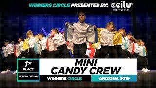 Mini Candy Crew   1st Place Jr Team Division   Winners Circle World of Dance Arizona 2019   #WODAZ19