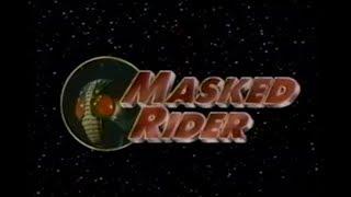 Saban's Masked Rider Unaired Pilot Clip