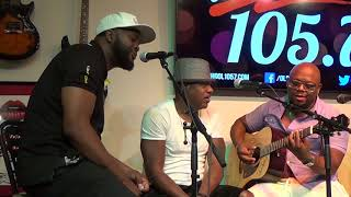 Silk performs Lose Control for Old School 105 7