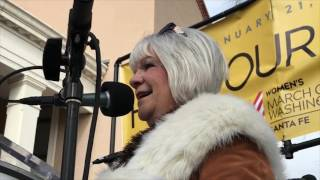 Bobbie Ferrell - Women's March On Washington Santa Fe