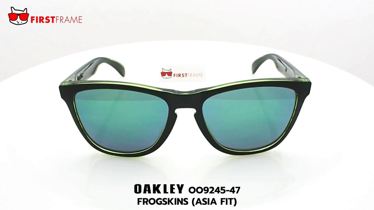 f79b7c0291664 แว่นกันแดด OAKLEY OO9245-47 FROGSKINS (ASIA FIT) - YouTube