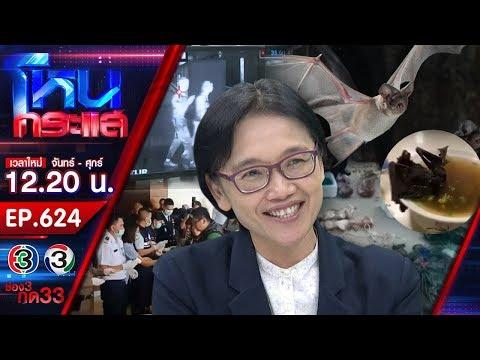 นักวิจัยหญิงไทยผู้ค้นพบไวรัสโคโรนาสายพันธุ์ใหม่ เตือนค้างคาวคือตัวนำพา - วันที่ 28 Jan 2020