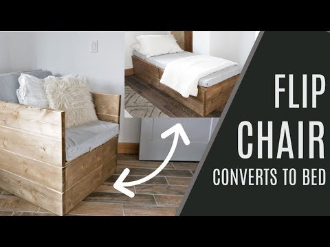DIY: Twin Sleeper Chair