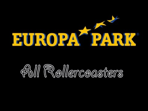 Europapark All Rollercoasters 2016