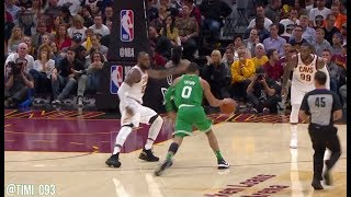 Jayson Tatum Highlights vs Cleveland Cavaliers (14 pts, 10 reb, 3 ast)